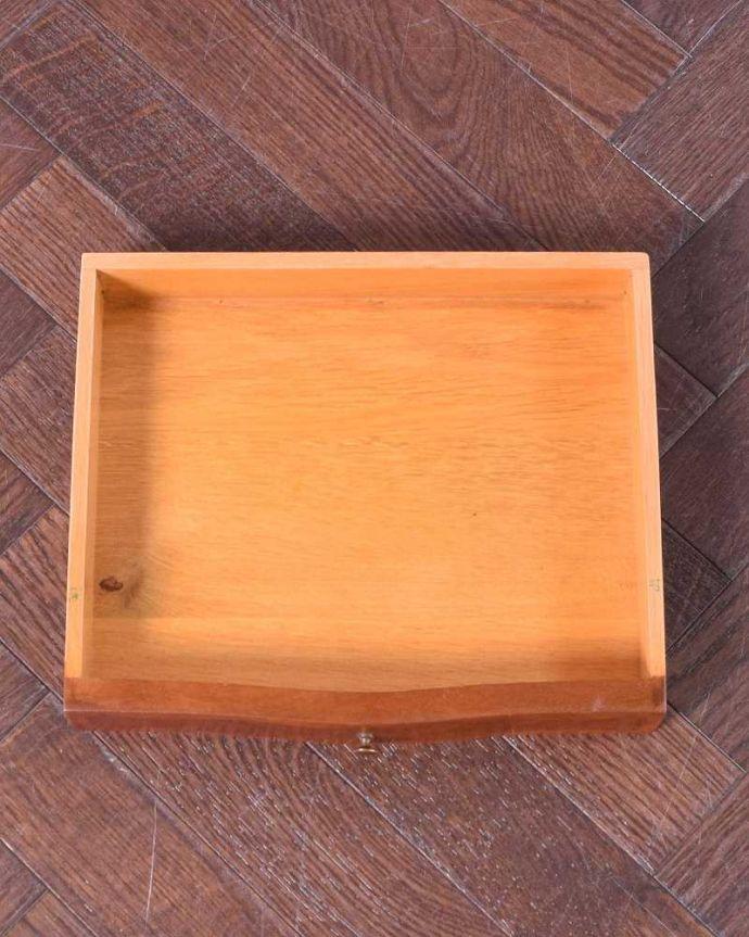 q-1465-f アンティークナイトテーブルの引き出し
