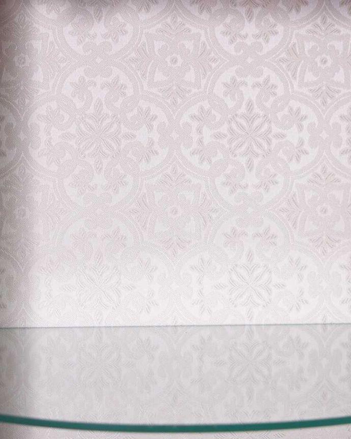 q-1483-f アンティークガラスキャビネットの背板の布