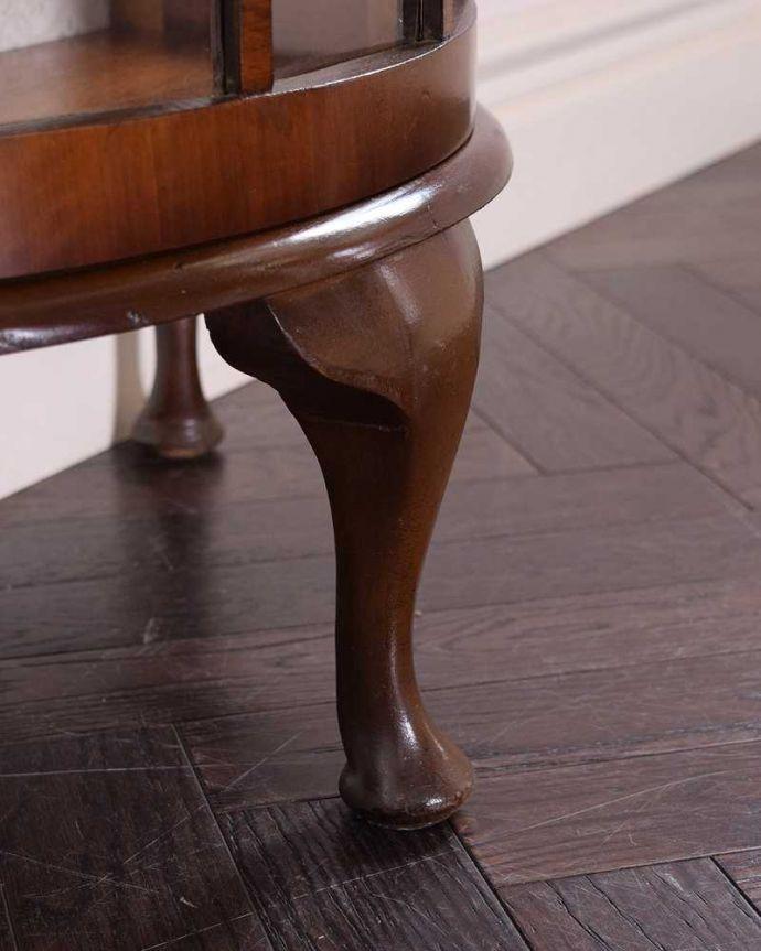 q-1483-f アンティークガラスキャビネットの脚