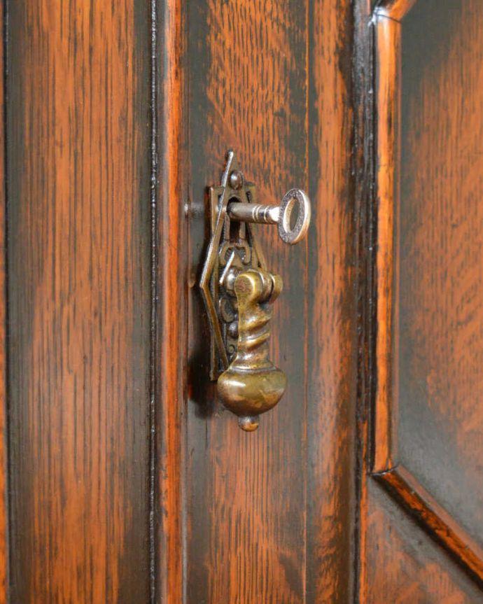 q-1490-f アンティークブックケースの鍵
