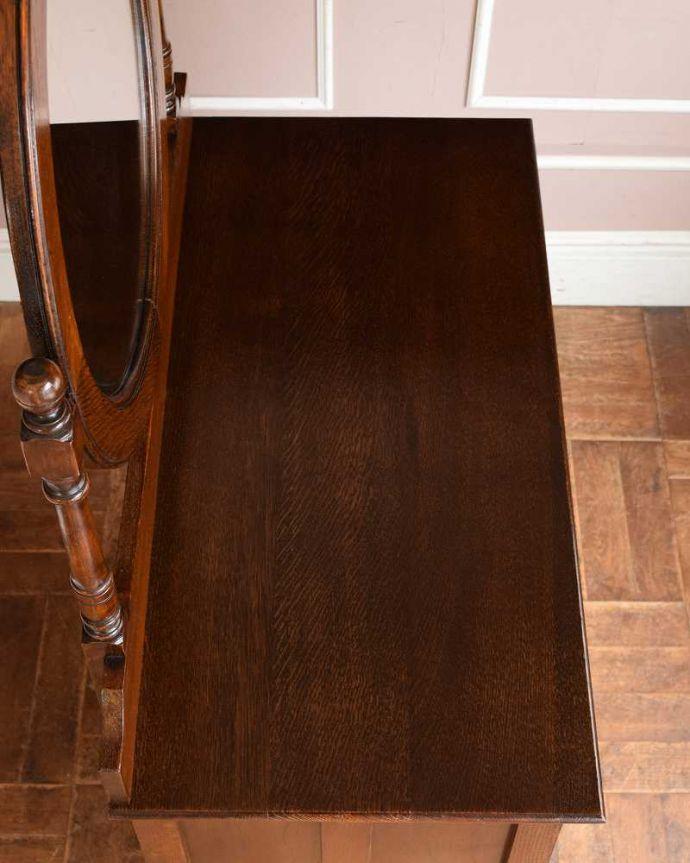 q-1493-f アンティークドレッシングテーブルの天板