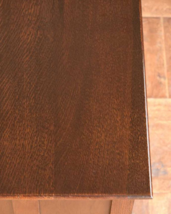 q-1493-f アンティークドレッシングテーブルの天板のズーム