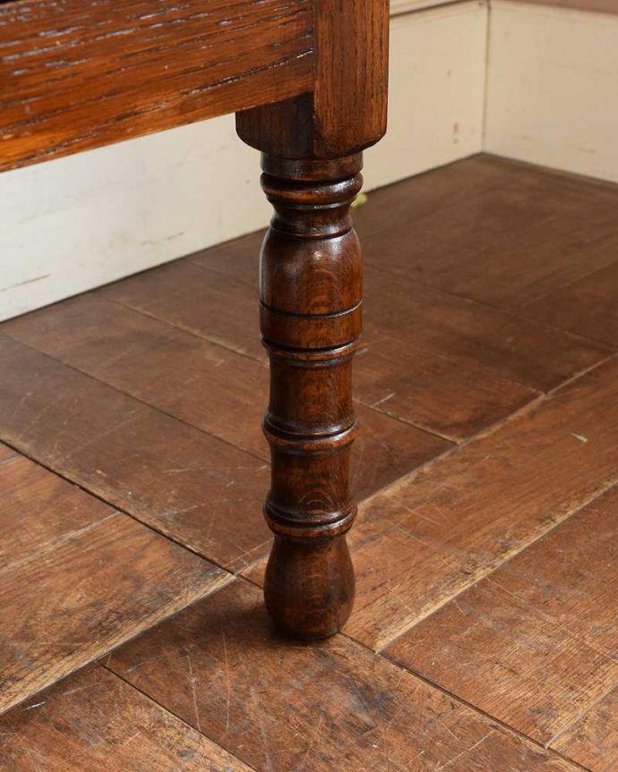 q-1493-f アンティークドレッシングテーブルの脚(普通の脚)