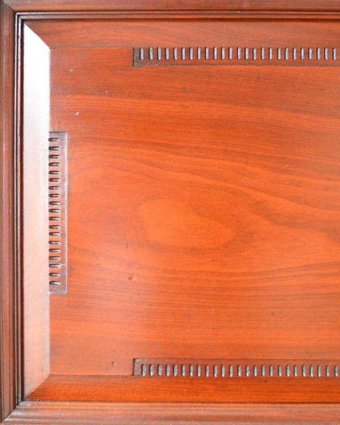 q-1505-f アンティークビューローブックケースの装飾1