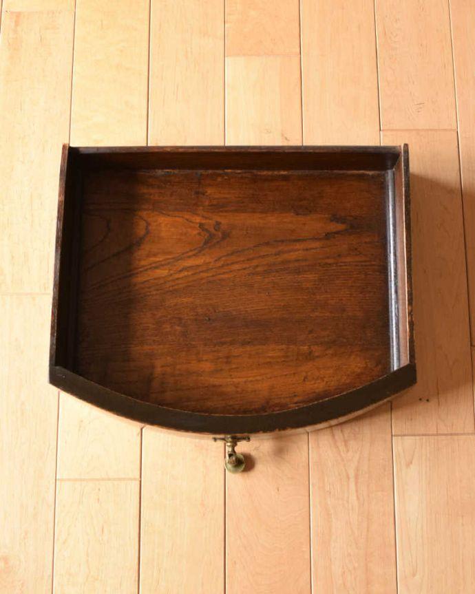 q-1514-f アンティークコンソールテーブルの引き出し