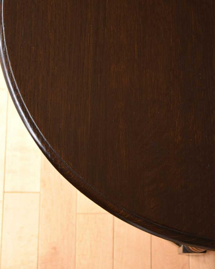q-1514-f  アンティークコンソールテーブルの天板ズーム