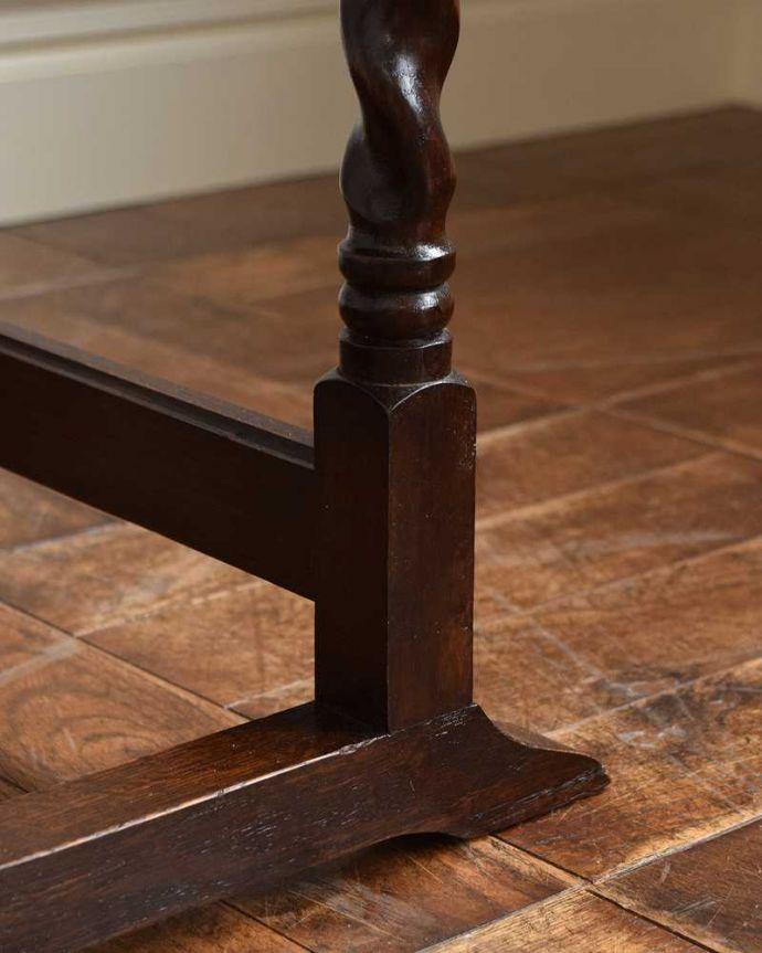 q-1538-f   アンティークゲートレッグテーブルの脚(普通の脚)