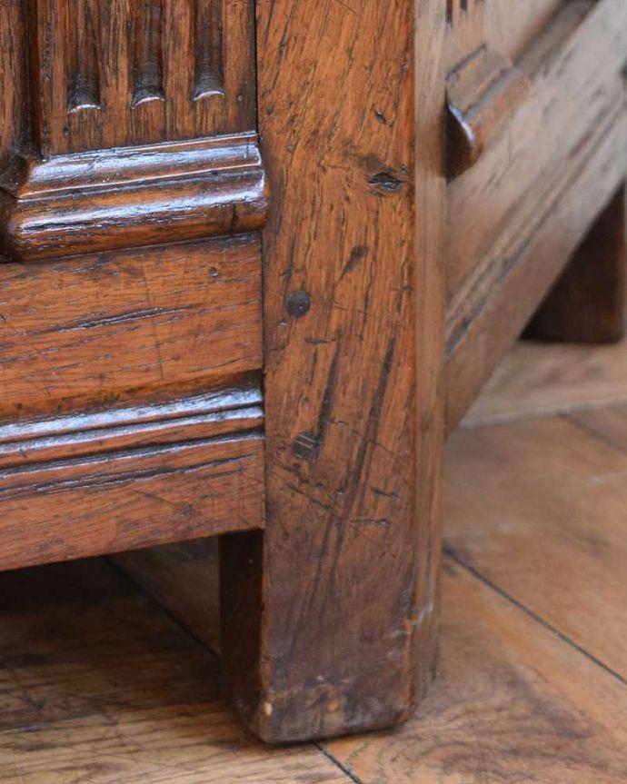 q-1543-f アンティークコファの脚