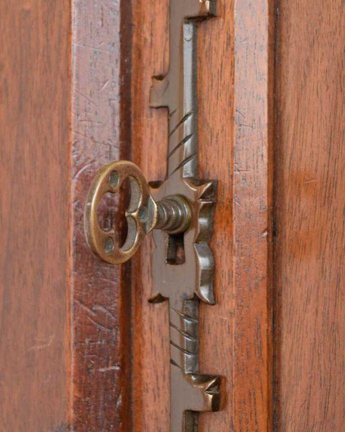 q-1553-f アンティークチェストの鍵