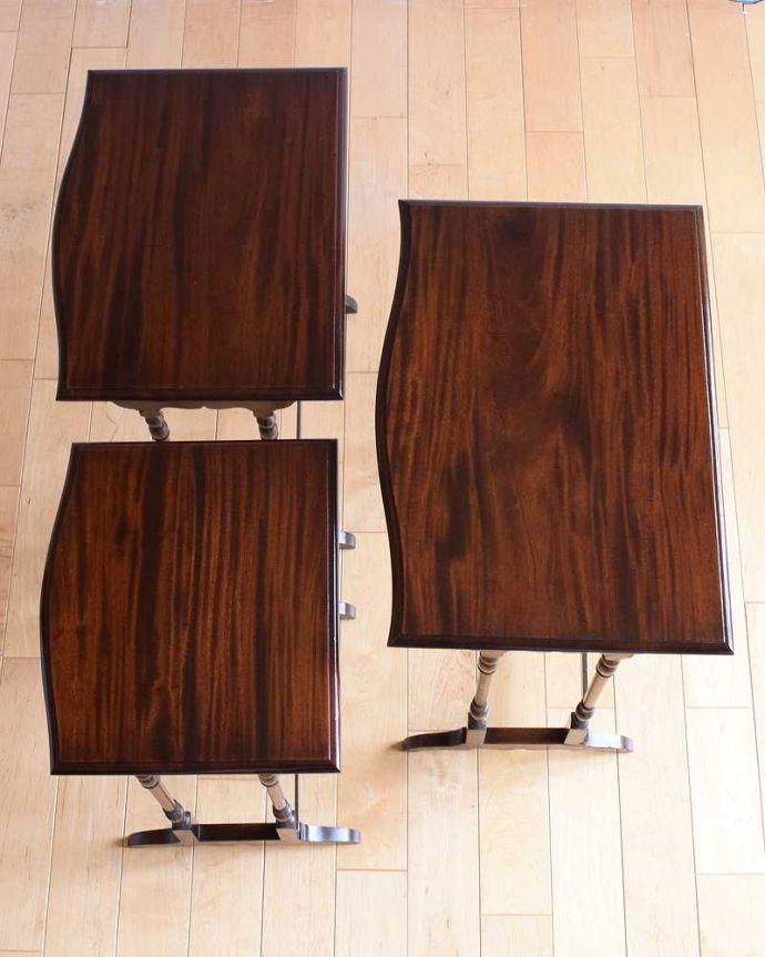 q-1559-f  アンティークネストテーブルの天板