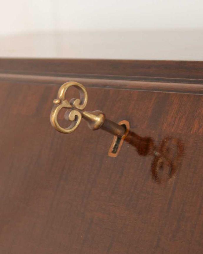 q-1579-f/ アンティークビューローの鍵(ビューロー部分)