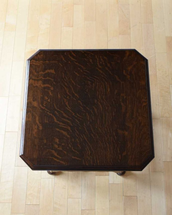 q-1604-f 英国アンティークコーヒーテーブルの天板