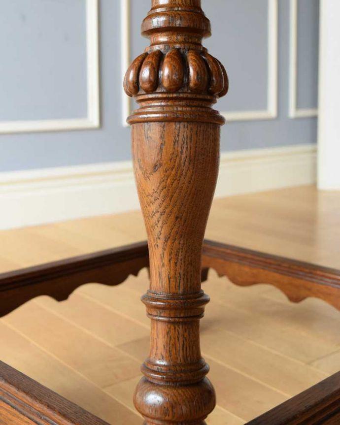 q-1604-f  アンティークコーヒーテーブルの装飾1
