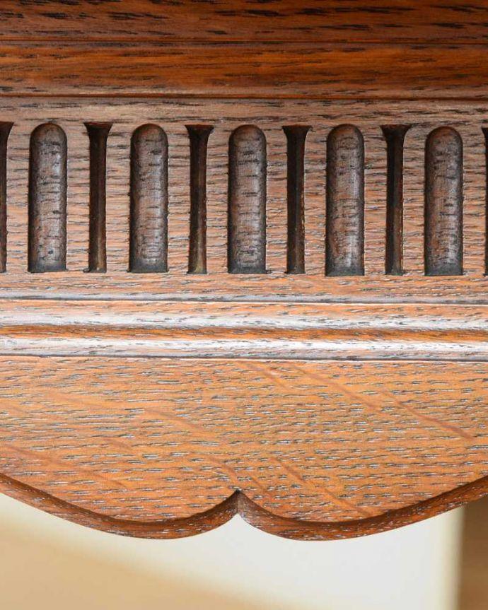 q-1604-f アンティークコーヒーテーブルの装飾2
