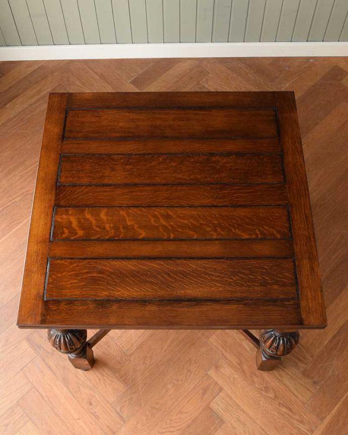 q-1608-f アンティークドローリーフテーブルの天板(閉じた状態)
