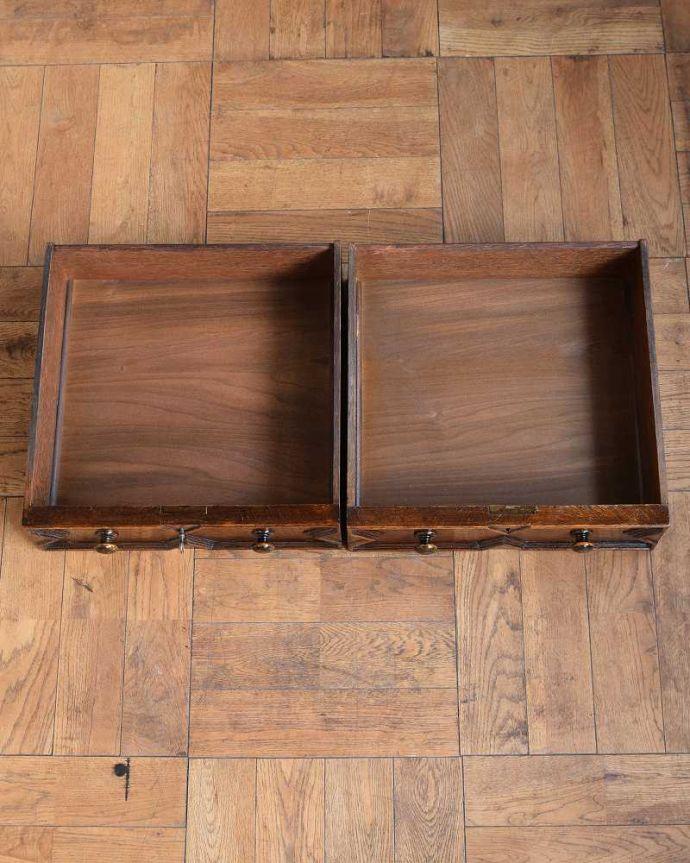 q-1615-f アンティークホールテーブルの引き出し