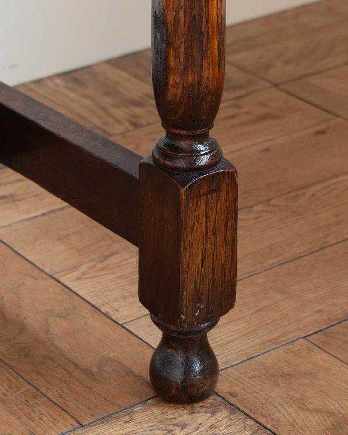q-1615-f アンティークホールテーブルの脚