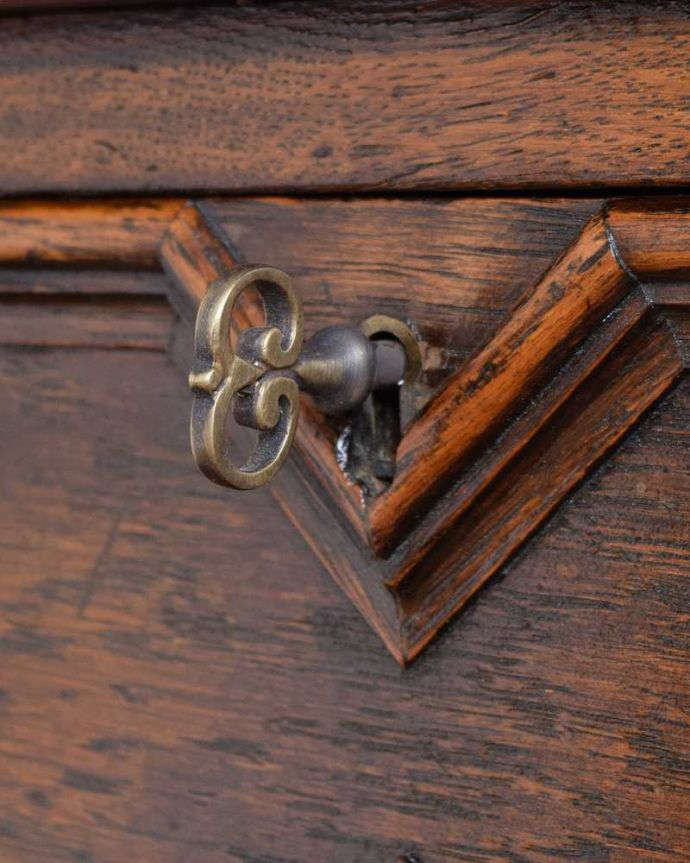 q-1615-f アンティークホールテーブルの鍵