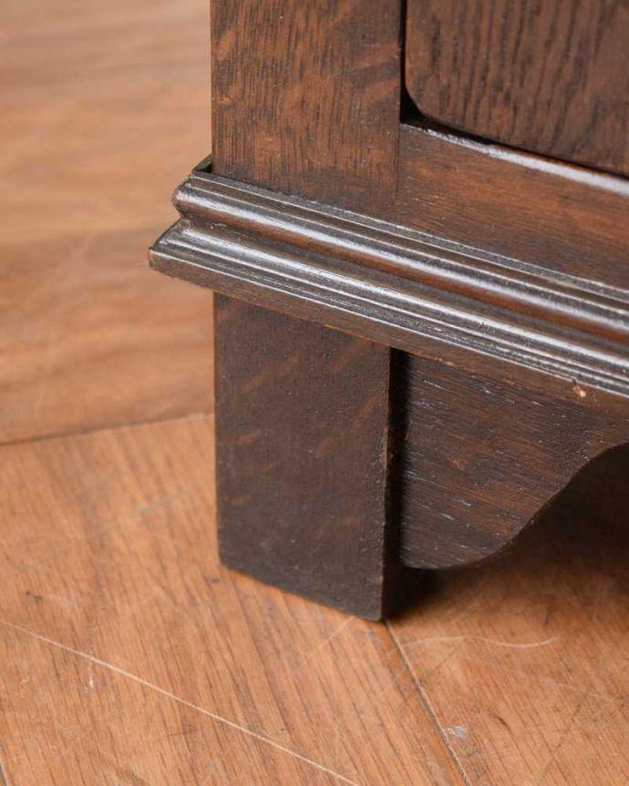 q-1622-f アンティークブックケースの脚