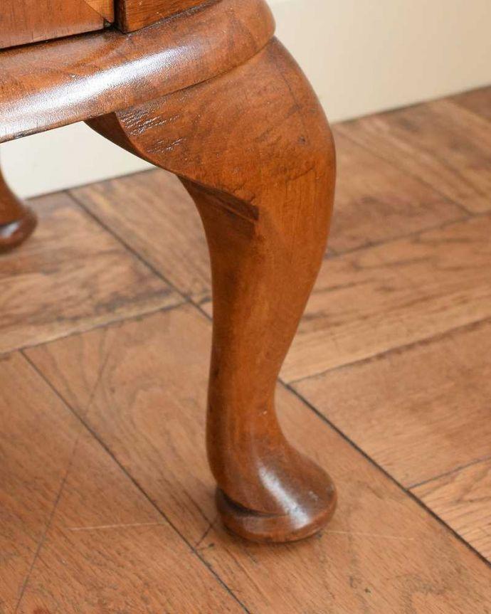 q-1626-f アンティークガラスキャビネットの脚