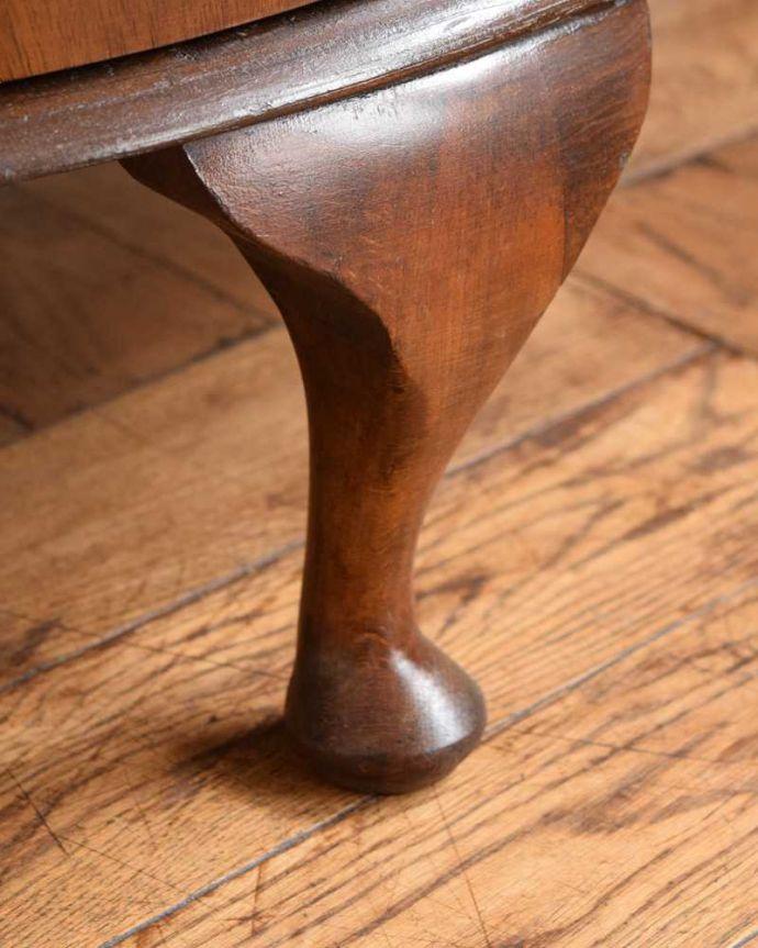 q-1630-f アンティークガラスキャビネットの脚