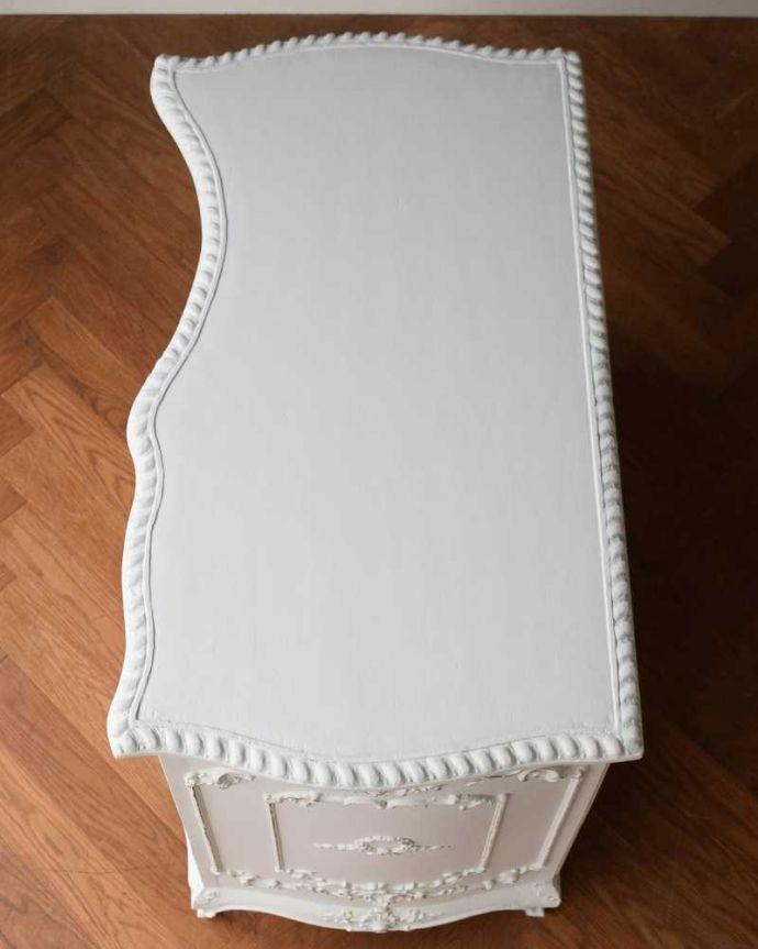q-1641-f アンティークドレッシングテーブルの天板