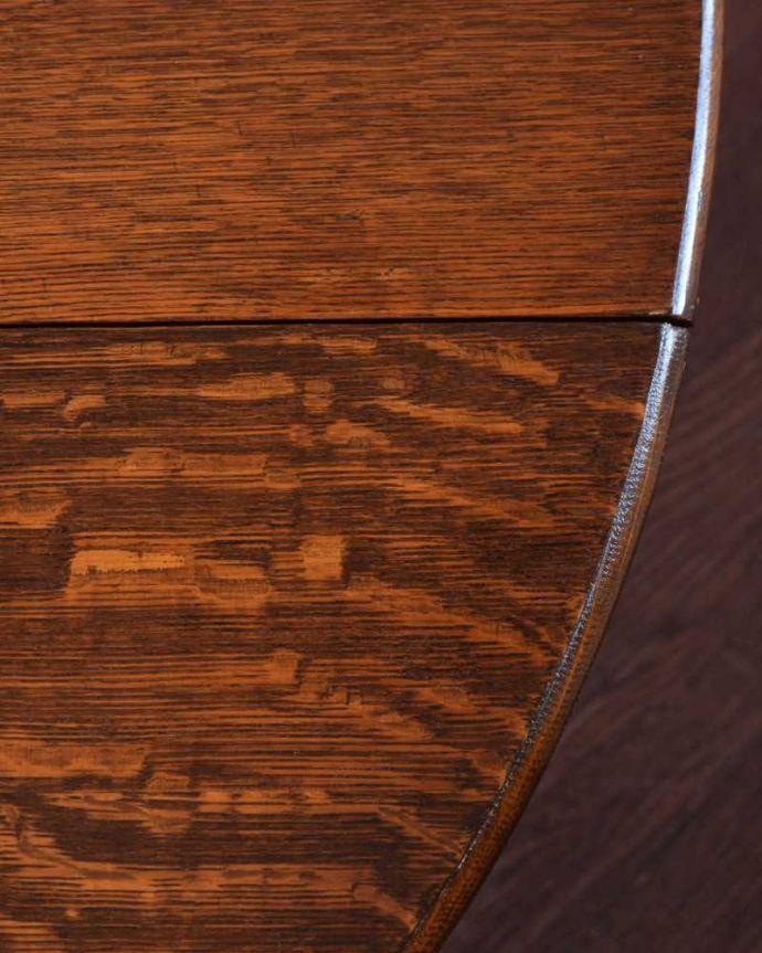 q-1656-f  アンティークテーブルの天板ズーム