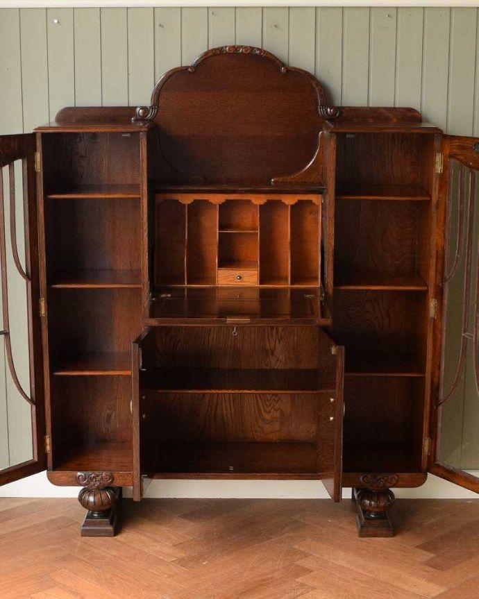 q-1657-f アンティークサイドバイサイドの扉内部