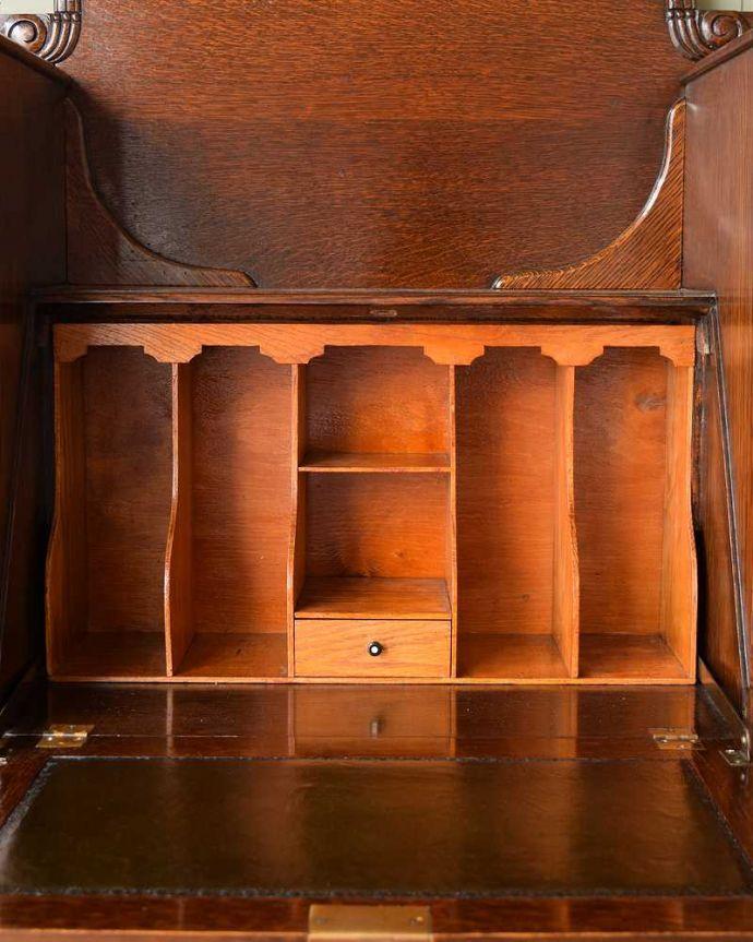 q-1657-f アンティークサイドバイサイドの内部