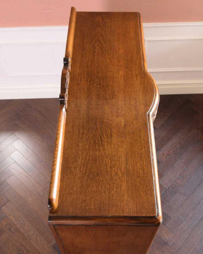 q-1685-f アンティークブックケースの天板
