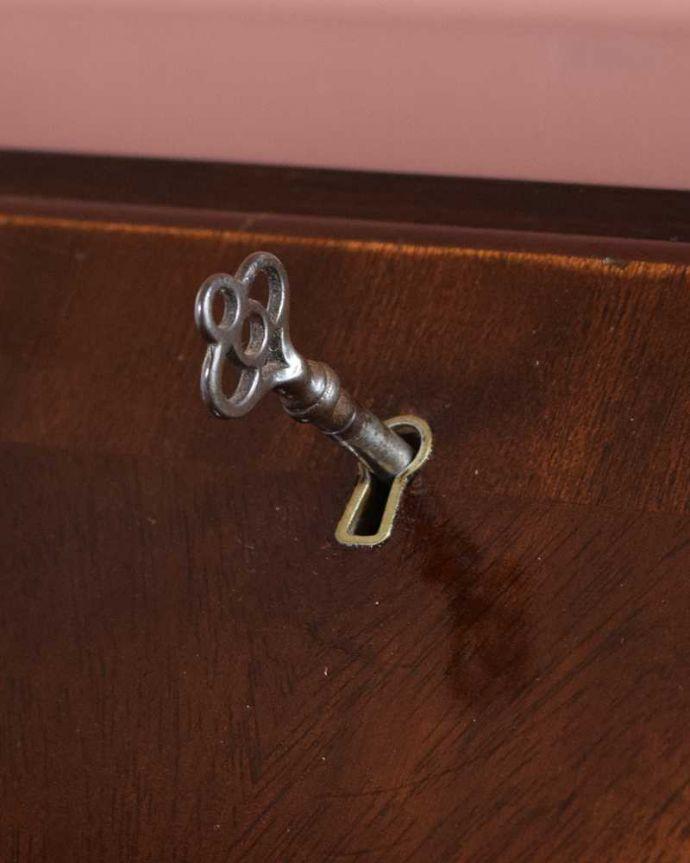 q-1690-f アンティークビューローの鍵(ビューロー部分)
