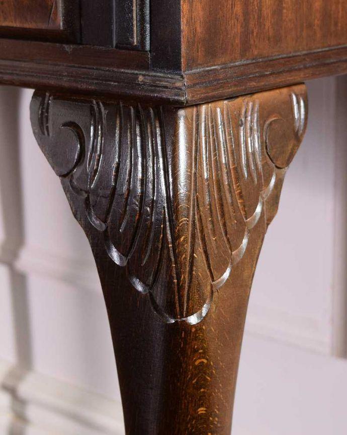 q-1690-f アンティークビューローの装飾1