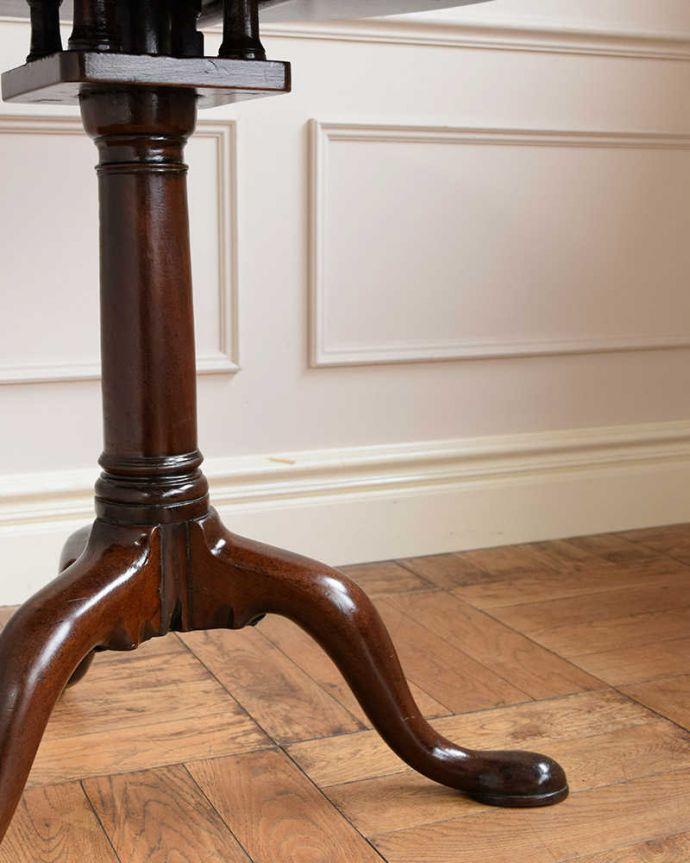 q-1713-f アンティークワインテーブルの脚