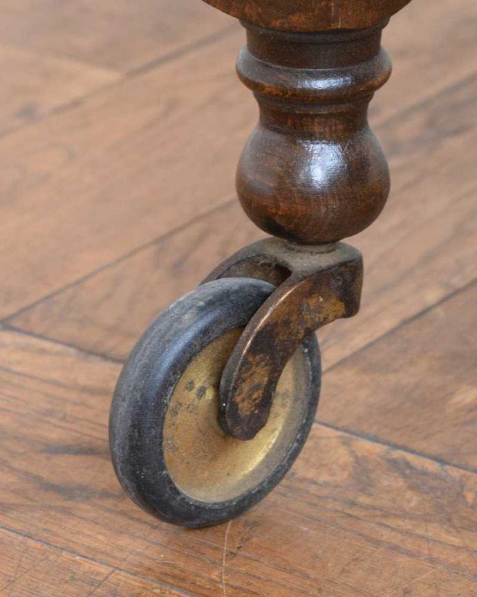 q-1734-f アンティークトローリー(ワゴン)の脚
