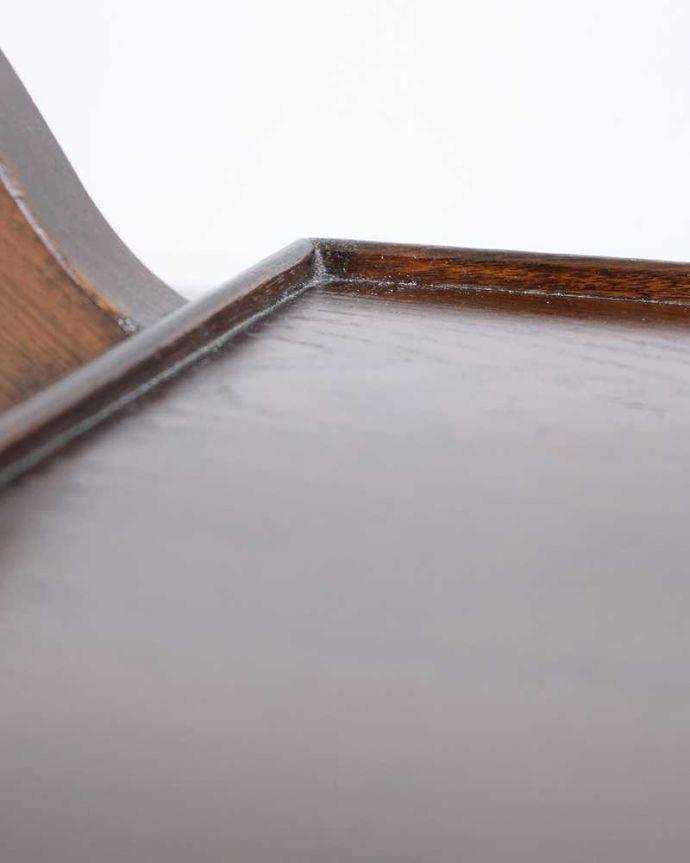 q-1734-f アンティークトローリー(ワゴン)の天板の縁