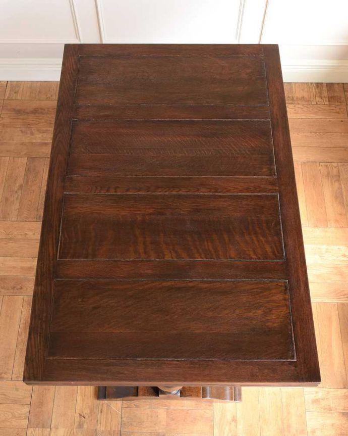 q-1742-f アンティークドローリーフテーブルの天板(閉じた状態)