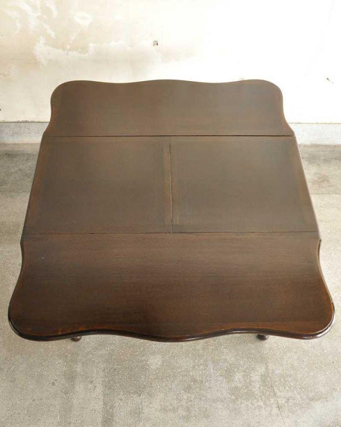 q-1754-f ビンテージダイニングテーブルの天板