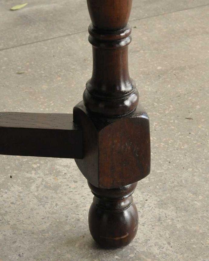 q-1754-f ビンテージダイニングテーブルの脚