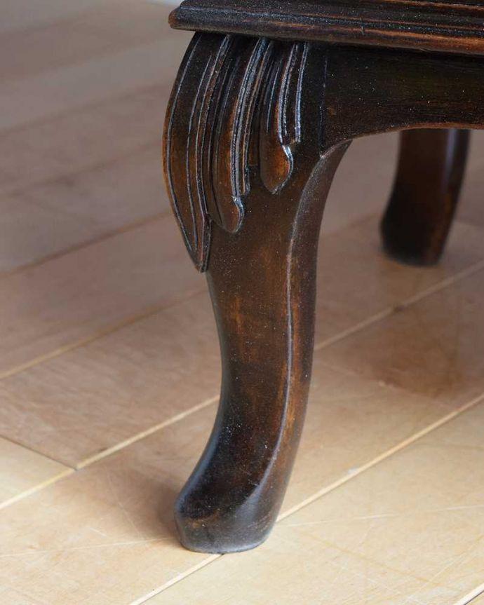 q-1759-f アンティークビューローの脚