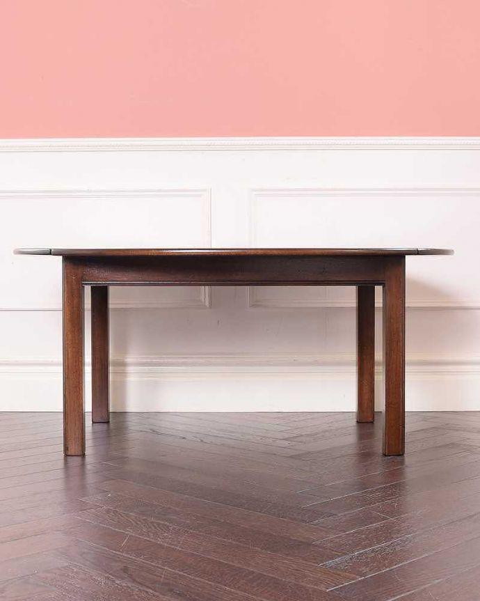 q-1773-f ヴィンテージコーヒーテーブルの横