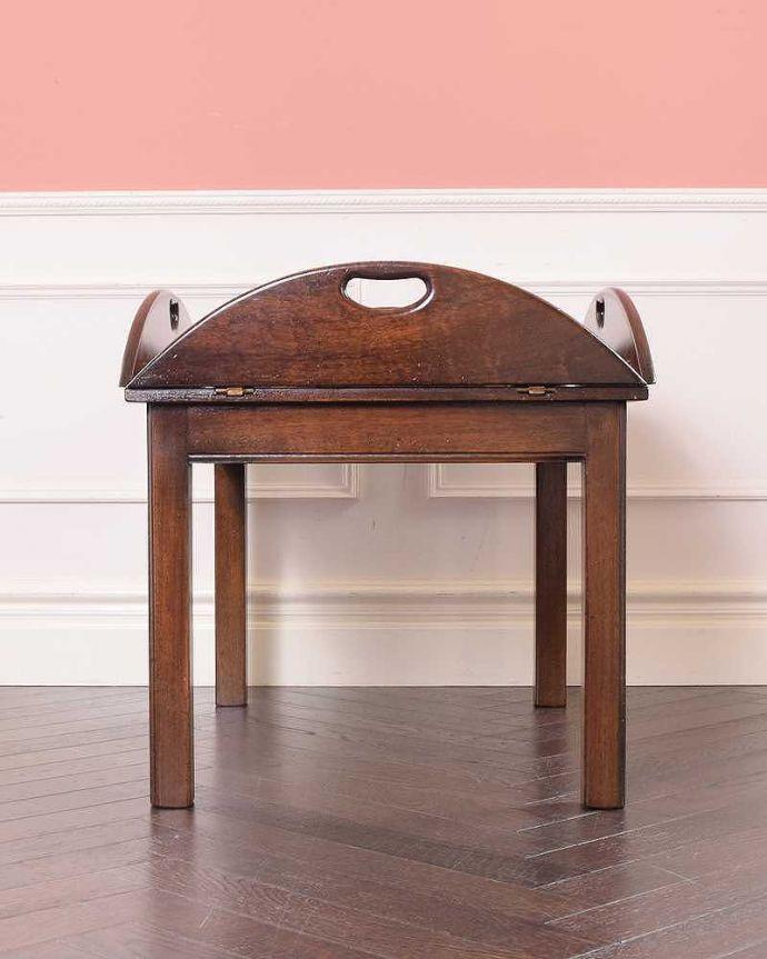 q-1773-f ヴィンテージコーヒーテーブルの後ろ