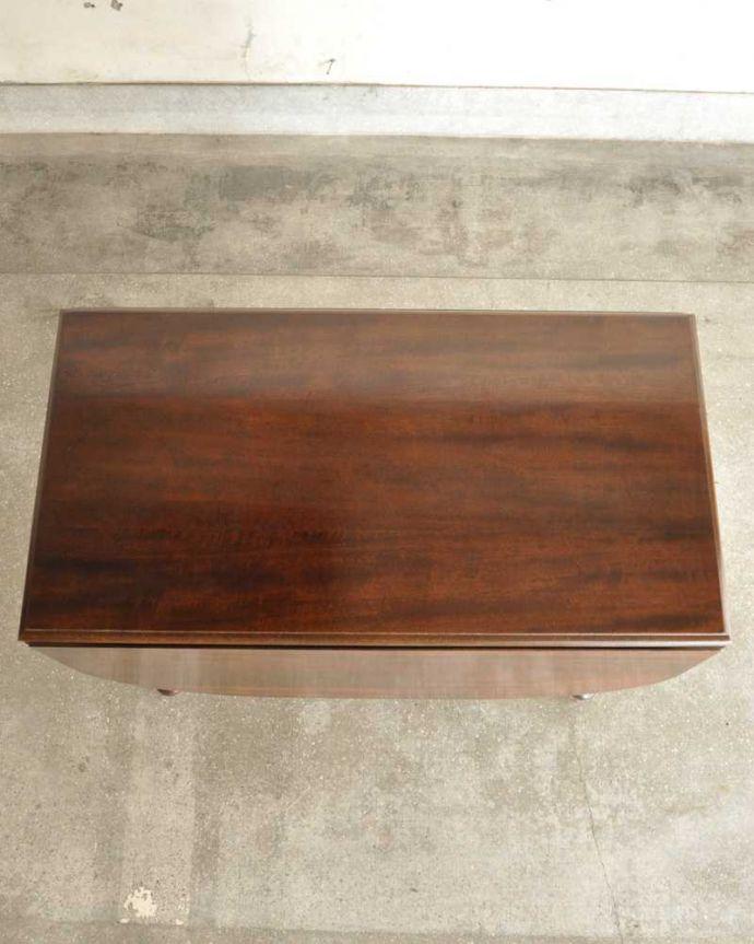 q-1780-f アンティークダイニングテーブルの天板(とじて)