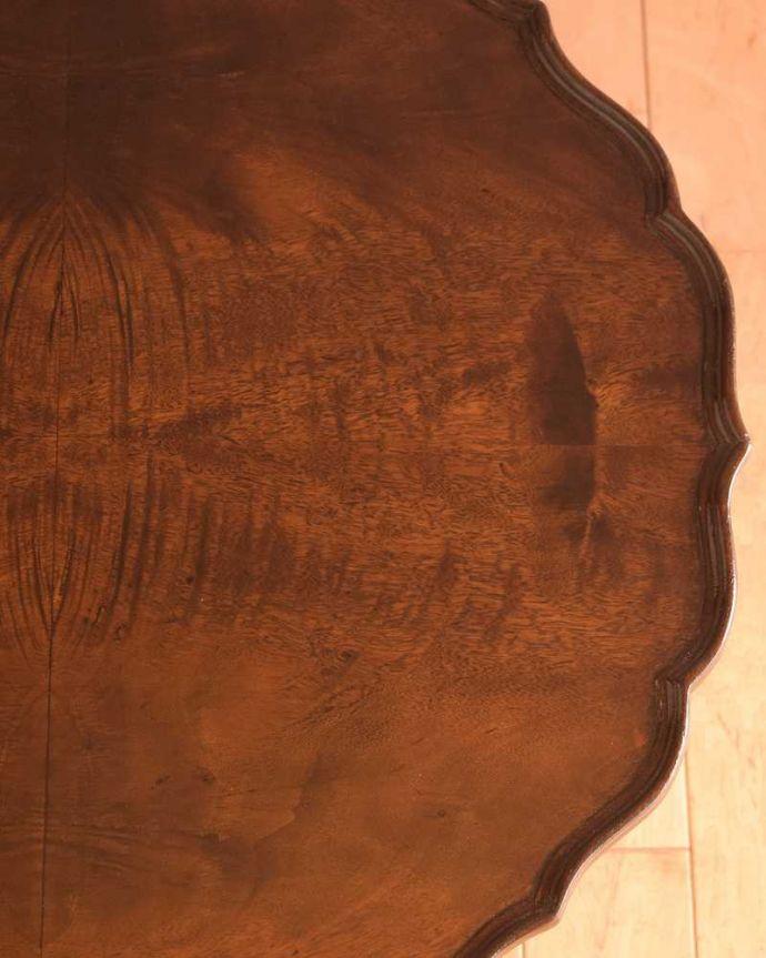 q-1792-f 英国アンティークコーヒーテーブルの天板ズーム