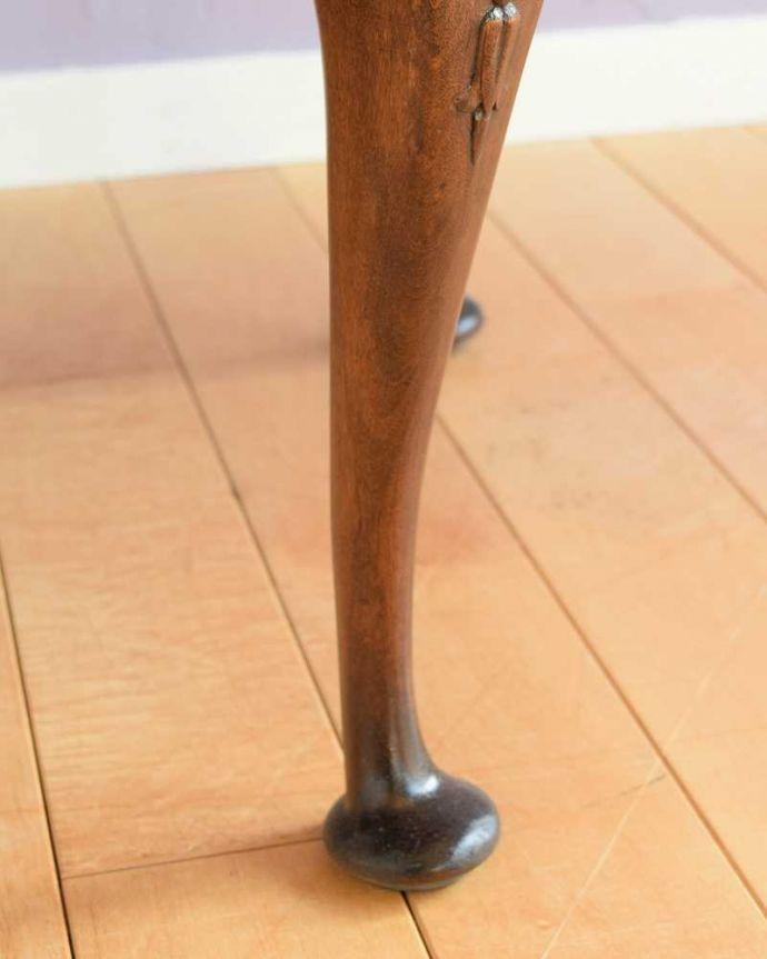 q-1792-f 英国アンティークコーヒーテーブルの脚