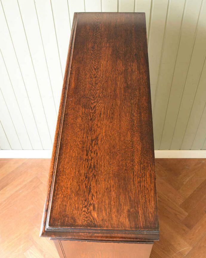 q-1813-f アンティークブックケースの天板
