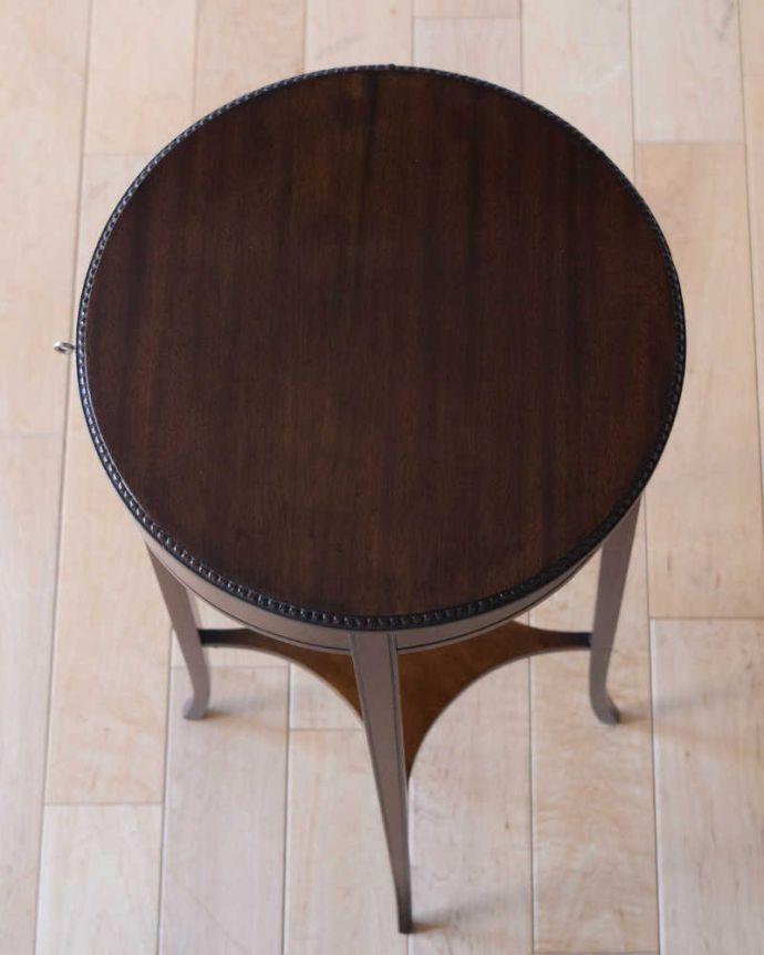 q-1838-f アンティークオケージョナルテーブルの天板