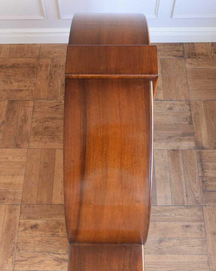q-1841-f アンティークガラスキャビネットの天板