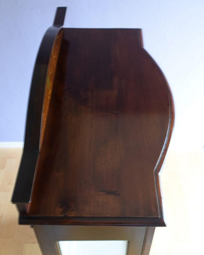 q-1881-f アンティークキャビネットの天板