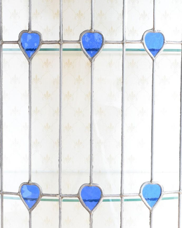 q-1881-f アンティークキャビネットの扉装飾