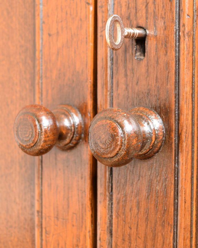 アンティークキャビネットの扉の取っ手 q-2095-f